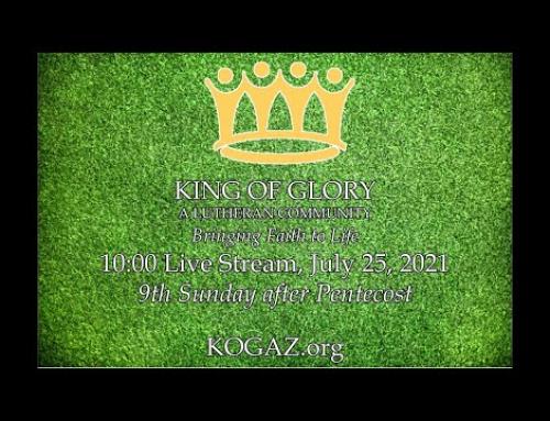10:00am 07-25-21 KOG Live Stream