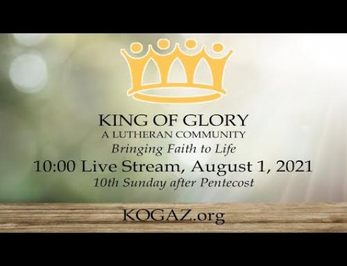 10:00am 08-01-21 KOG Live Stream