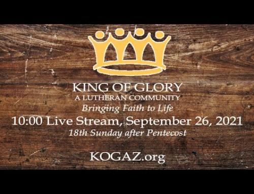 10:00am 09-26-21 KOG Live Stream