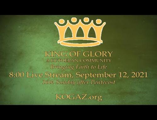 8:00am 09-12-21 KOG Live Stream